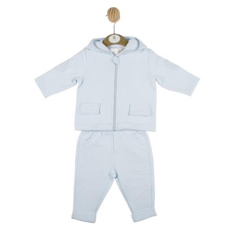 AW20 Mintini.  White and Blue 3 piece suit.  MB4348