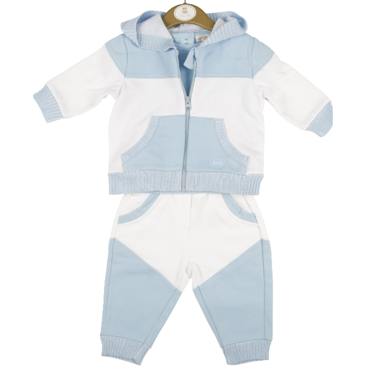 AW20 Mintini 3 piece Blue and White Suit. MB4380