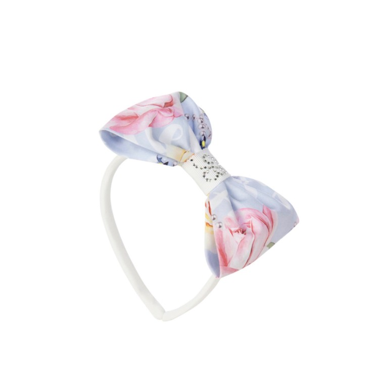 Balloon Chic Blue floral Hairband 954