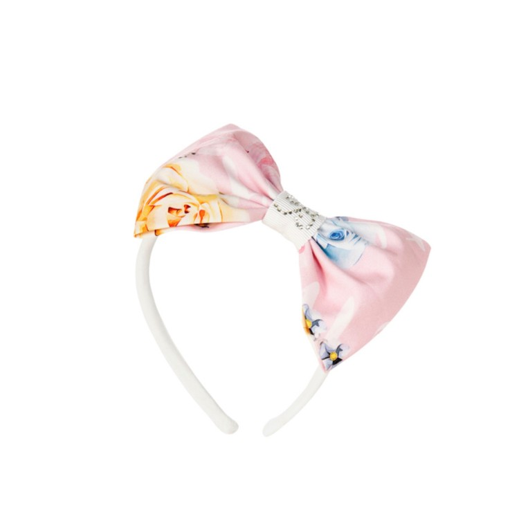 Balloon Chic Headband    Pink roses with diamonte. 953