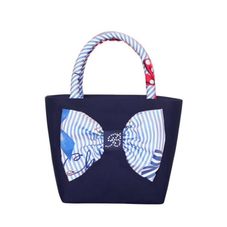 Balloon Chic Navy Hanbdbag 974