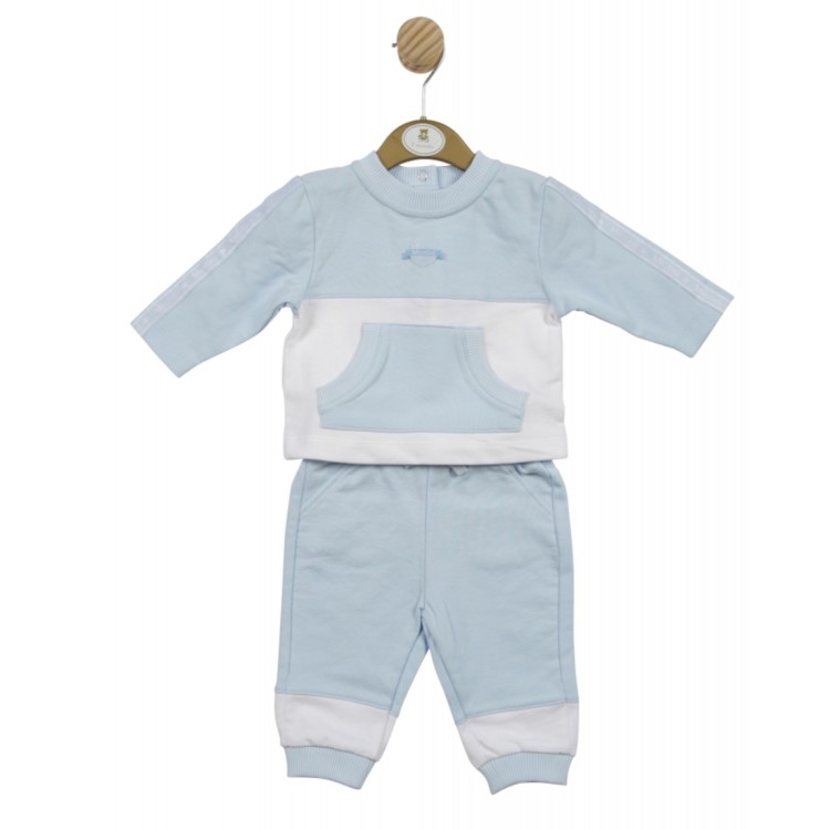 SS21 Mintini Blue and white jog suit. MB4566